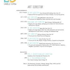 Verizon Resume Danielle Ostrow Art Director Resume