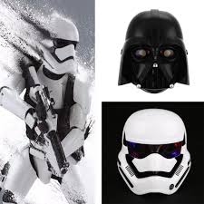 Halloween Light Up Costumes New Star Wars Led Light Stormtrooper Mask Helmet Dress Up Costume
