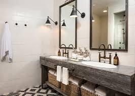 Diy Rustic Bathroom Vanity by Reclaimed Wood Double Vanity Bathroom Reclaimed Wood Double Vanity