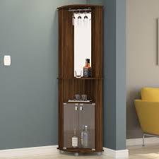 Wall Bar Cabinet Boahaus Corner Bar Cabinet With Mirrored Wall U0026 Reviews Wayfair