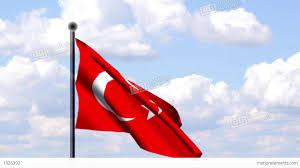 Turkey National Flag Animated Flag Of Turkey Türkei Stock Animation 1926392
