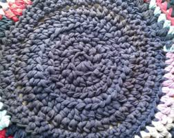 Round Woven Rugs Round Rag Rug Etsy