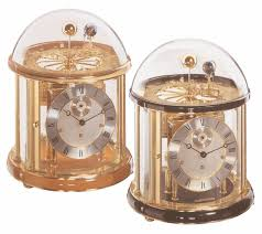 Hermle Grandfather Clock Hermle Orbiting Earth Moon Cherry Base Planetary Tellurium I