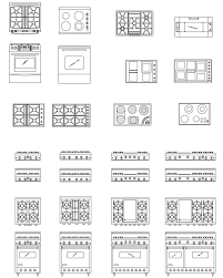 Kitchen Floor Plan Symbols Appliances 42 Best Drafting Images On Pinterest Architecture Floor Plans