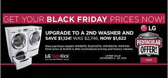 who has the best deals on washers for black friday our biggest sale of the year black friday deals all month long