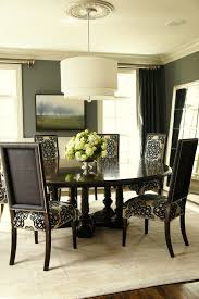 new york black lacquer dining table room traditional with curtain