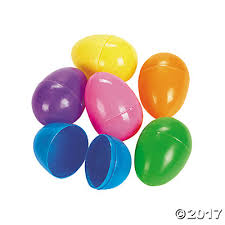 easter eggs plastic easter eggs