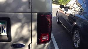 2002 ford excursion tail lights ford e350 led tail lights youtube