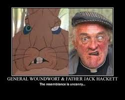 Japanese Father Meme - general woundwort and father jack demotivational by headbanger14 on
