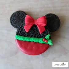 mickey u0026 minnie mouse christmas cookies bake disney treats