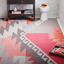 How To Clean Kilim Rug Sivas Wool Kilim Rug Macaroon Pink West Elm