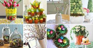 Decorate Easter Dinner Table by 31 Chic Diy Easter Centerpieces To Dress Up Your Dinner Table