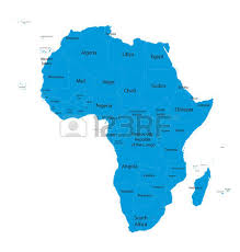 africa map all countries africa map with names of all countries royalty free cliparts