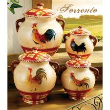 rooster canisters kitchen products rooster canister set morning rooster canister set rooster
