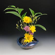 ikebana vase ikebana vase flower tray flower dish flower bowl with