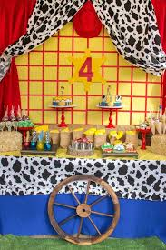 story party ideas story cowboy birthday party ideas dessert table