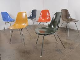 13 charles and ray eames for herman miller shell chairs for sale