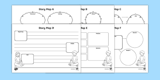 story map activity sheets pack story map stories worksheets