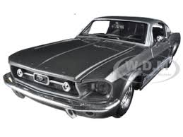 Black 67 Mustang Coupe Mustang Diecast Model Cars 1 18 1 24 1 12 1 43