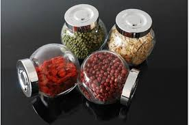 Red Glass Kitchen Canisters by Compare Prices On Glass Kitchen Canister Online Shopping Buy Low