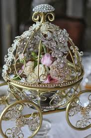cinderella carriage centerpiece inspired by disney s fairytale wedding cinderella s carriage coach