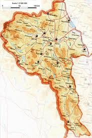 Mongolia On World Map Bayan Ulgii Aimag Map Map Of Mongolia