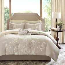 Black And Beige Comforter Sets Sonora 9 Piece Complete Bed Set Essentials By Madison Park