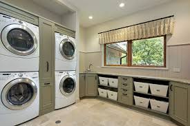 Countertop Clothes Dryer Laundry Room Ideas Stacked Washer Dryer Laundry Room Traditional