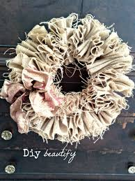 burlap wreaths features and how to make burlap wreaths for diy beautify