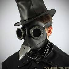 plague doctor s mask steunk bubonic plague doctor mask costume international shipping