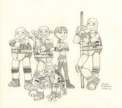 teenage mutant ninja turtles coloring pages nickelodeon