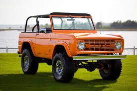 ford bronco 1972 classic ford bronco coyote velocity restorations