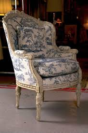 19th c antique french wingback bergere chair antiques home and