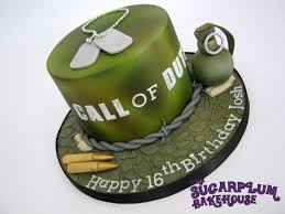 call of duty birthday cake call of duty 16th birthday cake cake by sam harrison cakesdecor