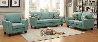 homelegance adair sofa set teal 8413tl sofa set