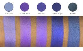 Purple Shades by Makeup Geek Foiled Eyeshadow Pan Caitlin Rose Makeup Geek