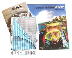 Padi Dive Table by Padi Open Water Diver Manual With Rdp Table Metric From 29