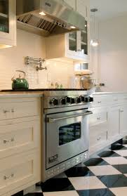 White Kitchen Tile Backsplash Spice Up Your Kitchen Tile Backsplash Ideas Checkerboard Floor