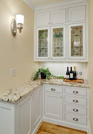 Pantry With Leaded Glass Traditional Kitchen Minneapolis - Leaded glass kitchen cabinets