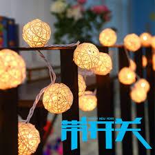 string lights balls garland ls 4 5m aa battery
