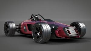 audi race car 3d audi concept racecar auto union cgtrader