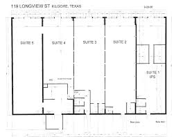 Retail Floor Plans by Texas Office Leasing Longview Texas