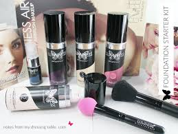luminess air air supremacy airbrush makeup notes from my