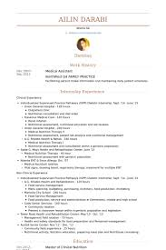 Pastor Resume Template Medical Assistant Resume Example Resume Example And Free Resume