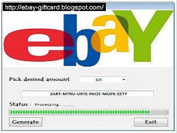 free gift card code free ebay gift card generator new update 2014 free 100