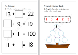 pictures on maths worksheets for primary 1 wedding ideas