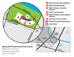 Austin Area Map by The Austin Record Convention Austin Record Show