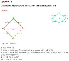practical geometry ncert extra questions for class 8 maths chapter 4