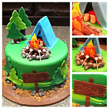 camping cake 7 cakes travel u0026 transportation pinterest