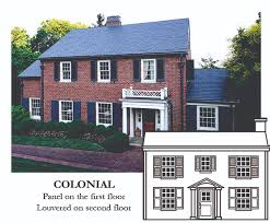 colonial house style shutters for colonial house style make the match timberlane